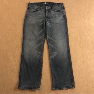 7 For all Mankind Relaxed A Pocket Jeans 36 X 31
